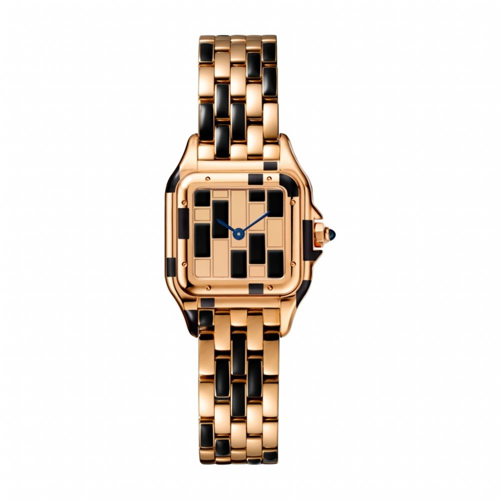 alt:text Panthere De Cartier Rose Gold Watch